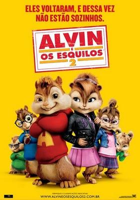 alvin e os esquilos 2 dublado rmvb dvdrip